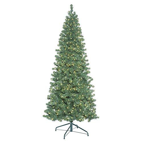 Vickerman Christmas-Trees, PVC, Green, 7.5'