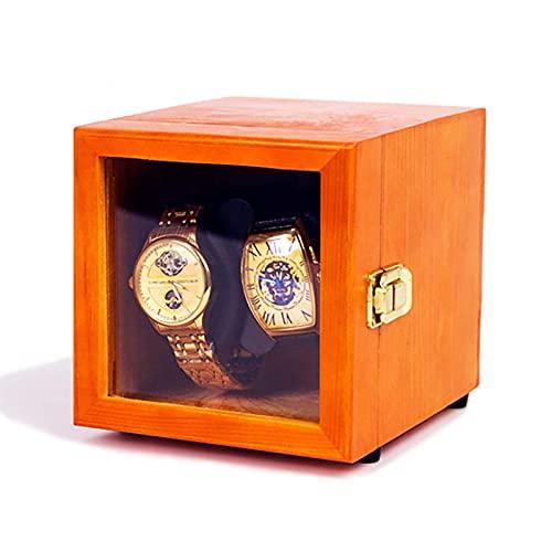 DFJU Enroladores de relógio Mini pinho recarregável caixa de enrolamento...