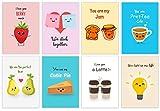 Ink StroQ Cute Love Pun Postcards (Set of 8)
