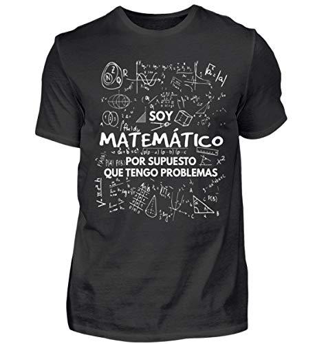 Shirtee Soy Matemático - Tengo Problemas - Camisa de Hombre