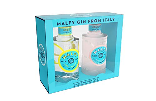 Malfy Gin Twin Pack con Limone & Rosa (2x 0,35l)
