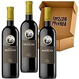Finca Resalso - Envío Gratis 24 H - 3 Botellas - Vino Tinto Bodegas Emilio Moro - Estuche Regalo - Seleccionado y enviado por Cosecha Privada