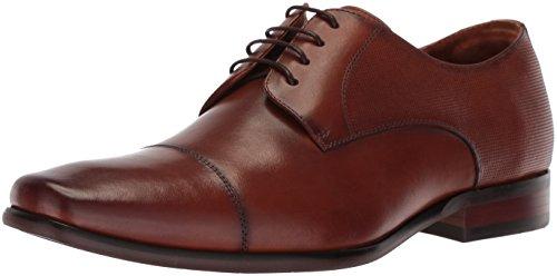 Florsheim mens Potenza Cap Toe Lace Up Oxford Dress Shoe, Cognac, 10.5 US