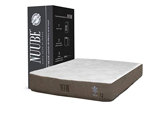 Nuube Colchón en Caja 1.2 Memory Foam, Matrimonial