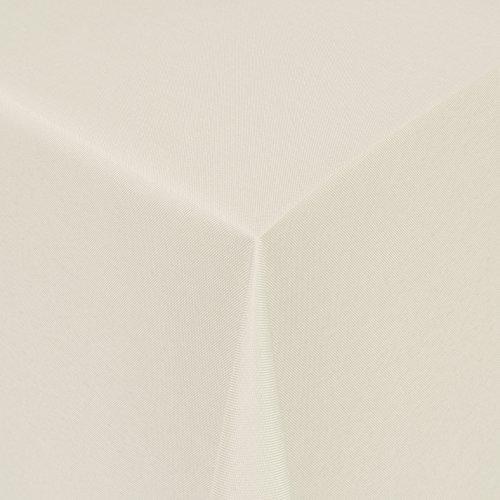 Gastro UNI Tischdecke Eckig 130x170 cm Champagner/Creme - mit Saumrand - Farbe & Größe wählbar