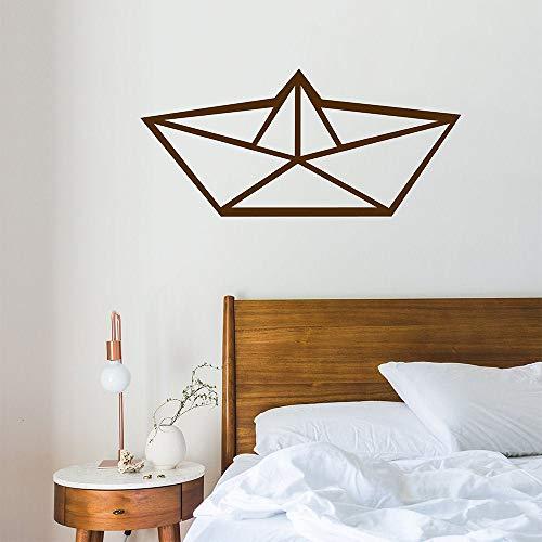 H421ld Vinilo para barcos Origami, papel plegable mural, arte de pared japonés