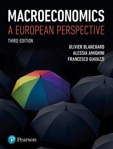 Blanchard Macroeconomics MEL PK_o3: A European Perspective