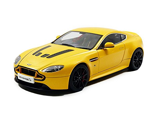 AUTOart Aston Martin V12 S Advantage – 70252 – 2015 – Scale 1/18 – Yellow