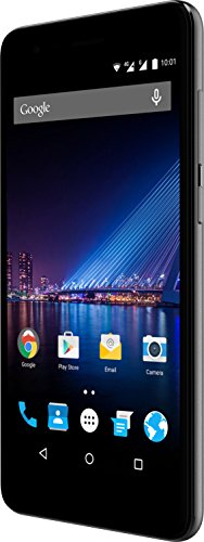 Phicomm Energy 4S Smartphone (12,7 cm (5 Zoll) Display, 16 GB Speicher, Android 7.0) Schwarz