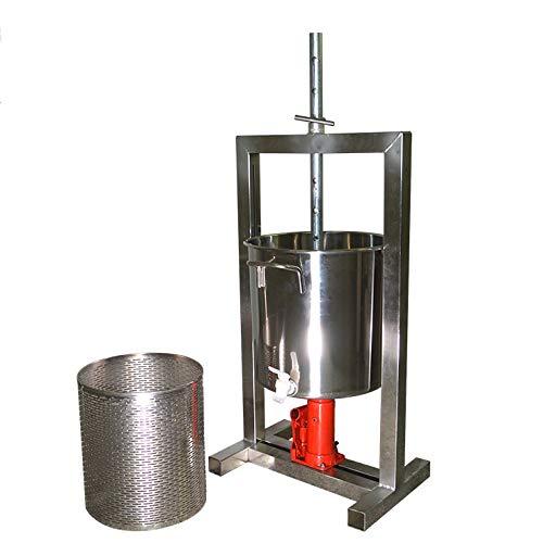 Prensa de frutas grande - 20 litros (5.28 galones) - Dispositivo de...
