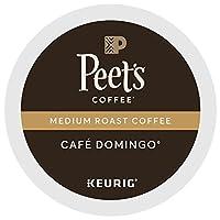 Peet's Coffee & Tea Coffee Cafe Domingo Blend K-Cup Portion Pack for Keurig K-Cup Brewers, 88 Count by Peet's Coffee