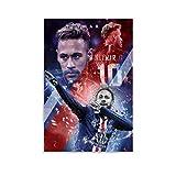 WUSOP Neymar Jr Leinwand Kunst Poster und Wandkunst