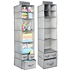 over the rod nursery organizer