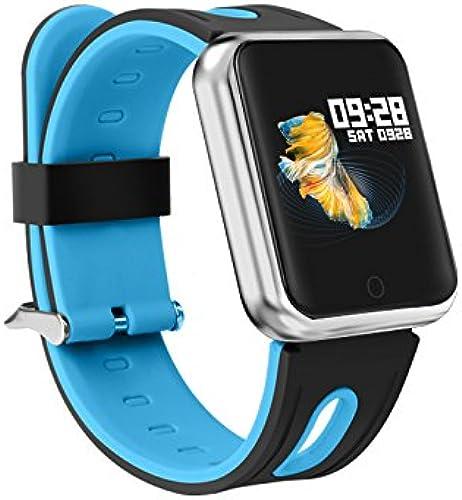Zeerkeer Montre Connectée bleutooth étanche Fitness Tracker avec podomètre, Compteur de Calories, Pulsé Appel SMS Fréquence Cardiaque pour Téléphone Android
