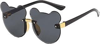 DFRFR - Gafas de sol gafas de sol anti-ultravioleta para hombres y mujeres flores de dibujos animados gafas de juguete de dibujos animados