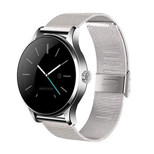 LXZ K88H Multifunktions-Smartwatch 1,22 Zoll IPS-Rundsieb Unterstützt Herzfrequenzmonitor Bluetooth Fitness Wasserdichten Multi-Sport-Smartwatch,D