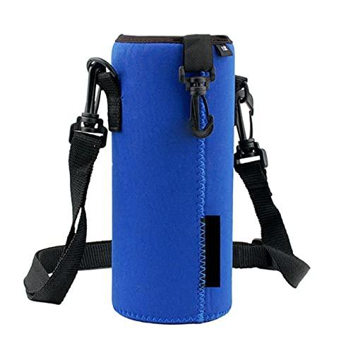 Deporte botella de agua cubierta aislador manga bolsa bolsa para 1000 ml portátil vacío taza deporte camping accesorios
