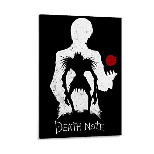 ASDZZ Poster décoratif Death Note Fond Ecran 50 x 75 cm
