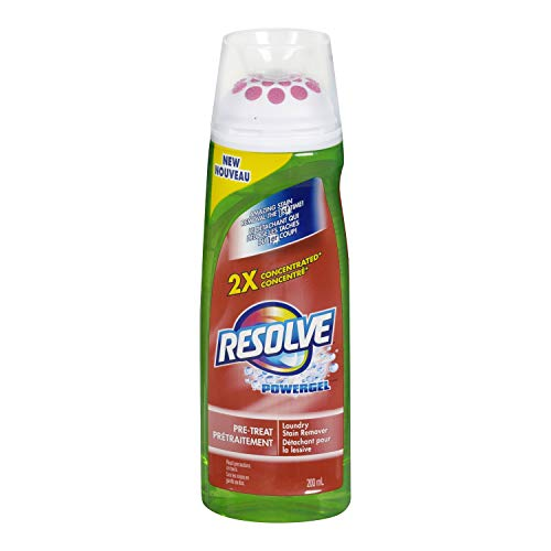 Resolve Max Power Pre-Treat Laundry Stain Remover and Maxpower Gel, 6.7 Ounce