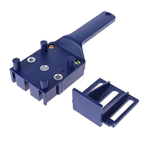 Handheld Holzbearbeitung Dübeln Jig Drill Guide Holzdübel Bohren Lochsäge Zubehör Vorlage Holzbohrdübel Zubehör