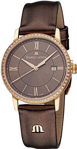 Maurice Lacroix Eliros EL1094-PVPD1-710-1 Damenarmbanduhr mit echten Diamanten