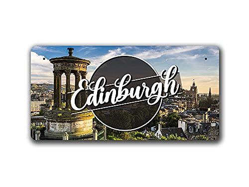 McMug Edinburgh Day Landscape - Scotland - Metal Sign
