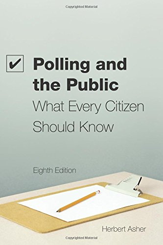Polling and the Public: What Every Citizen Should Know
