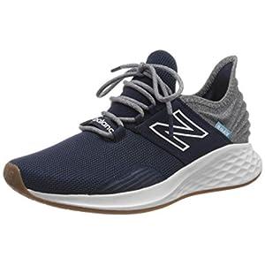 New Balance Men's Fresh Foam Roav V1 Sneaker, Natural Indigo/Light Aluminum, 11.5 M US