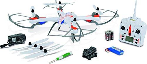 Carson 500507100 – X4 Quadcopter 550 Spy 2.4 G 100% RTF