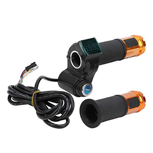 FOLOSAFENAR Juego de Controlador de Cepillo, Juego de Controlador de Cepillo de Bicicleta eléctrica Función Auxiliar Ligero para Bicicletas eléctricas