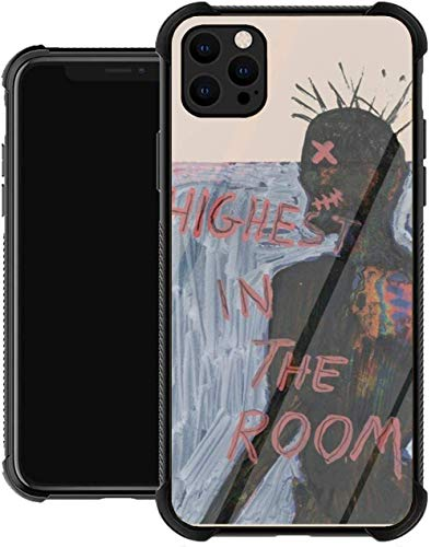 Travis Scott Rap Astro Trap Rodeo Cactus Astroworld Glass Phone Case Cover for iPhone 12/12 Pro Max Mini iPhone 11 11 Pro Max XR X/Xs iPhone 7/8 / SE 2020 7/8 Plus 6 6s 6/6s Plus