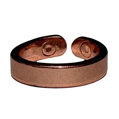 PROEXL Solid Copper Magnetic Therapy Ring Lapaz with Gift Box (12.0)