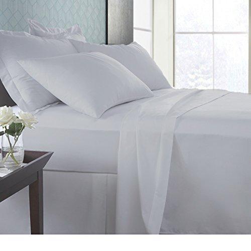 SPA Beddings Juego de sábanas de 4 piezas, 100% algodón egipcio de 600 hilos, juego de sábanas de alta calidad, acabado italiano, cómodo y con bolsillo de 48 cm de profundidad, color gris plateado
