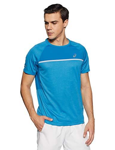 ASICS Camiseta SS Top Azul