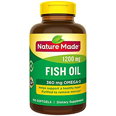 Nature Made - Fish Oil 1200 mg.