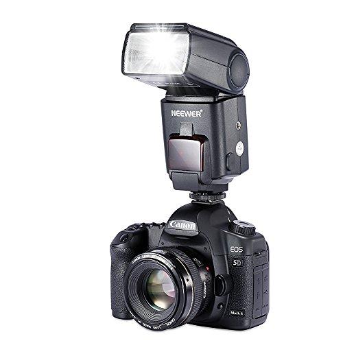 Neewer NW680/TT680 HSS Speedlite Flash E-TTL Camera Flash for Canon 5D MARK 2 6D 7D 70D 60D 50DT3I T2I and other Canon DSLR Cameras