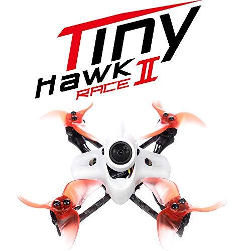 ZHCJH Drone FPV Racing, Tinyhawk II Race Brushless 90Mm FPV Racing Drone con Fotocamera 700Tvl Runcam Nano2 velocità Massima 120Km / H F4 37Ch 25/100 / 200Mw Vtx con 2 batterie