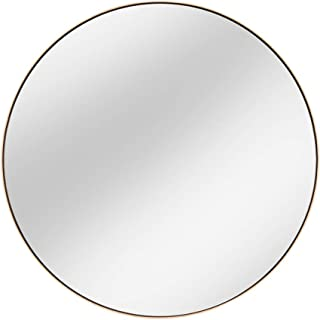 Qing MEI Household Stainless Steel Round Bathroom Mirrors Bathroom Mirrors Bathroom Mirrors Wall-Mounted Vanity Mirrors
