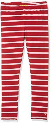 Steiff Mädchen Leggings, Rot (Jester RED 2120), (Herstellergröße:110)