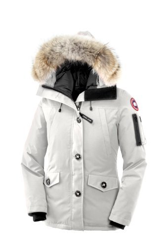 Canada Goose Ladies Montebello Parka (White, Large) by Canada Goose