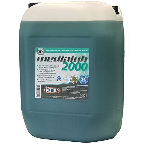 20 Liter Bio Kettenöl KETTLITZ-Medialub 2000