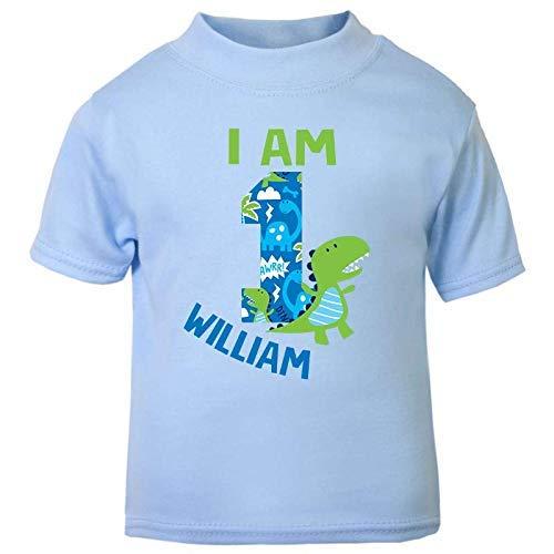 Design 2 Edward Sinclair Personalised Pirate Children/'s 2nd Birthday T-Shirt