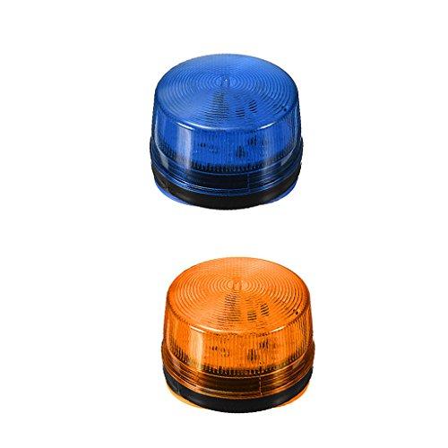 gazechimp Luz Estroboscópica de Flash de Tablero de Parabrisas de Advertencia de Emergencia de Coche LED 2 Uds 12V