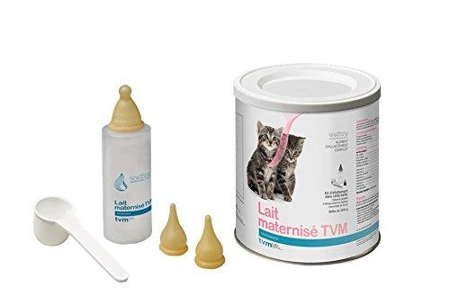 TVM Lait Maternisé Poudre Oral pour chiots, chaton et petits mammifères domestiques Boîte de 200 g