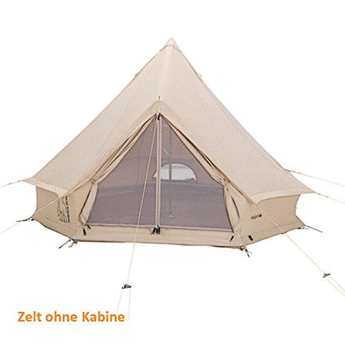Nordisk Tent Accessoires Asgard 7.1 Technical Cotton - Tent with Sewn-In Floor