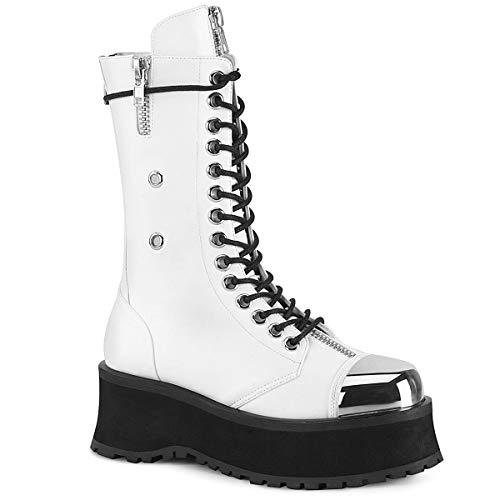 Demonia Stiefel -44 Shoes- GRAVEDIGGER14 Schwarz