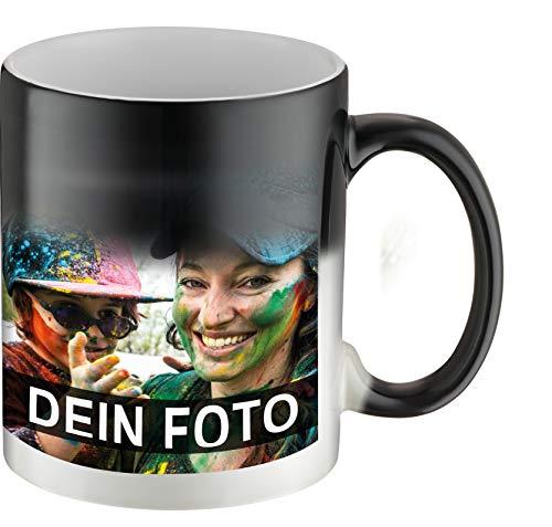 Panorama Zaubertasse zum Selbst gestalten I Kaffeetasse mit eigenem Foto und individualisierbaren Text Bedrucken Lassen I Geschenkidee für Lieblingsmenschen
