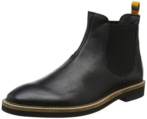Frank Wright Herren Hazelburn Chelsea Boots, Schwarz (Black), 41 EU