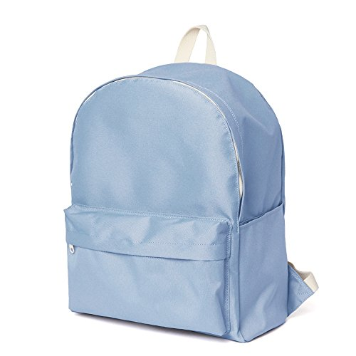 Moda escuela mochila Bookbag estándar mochila, Sky