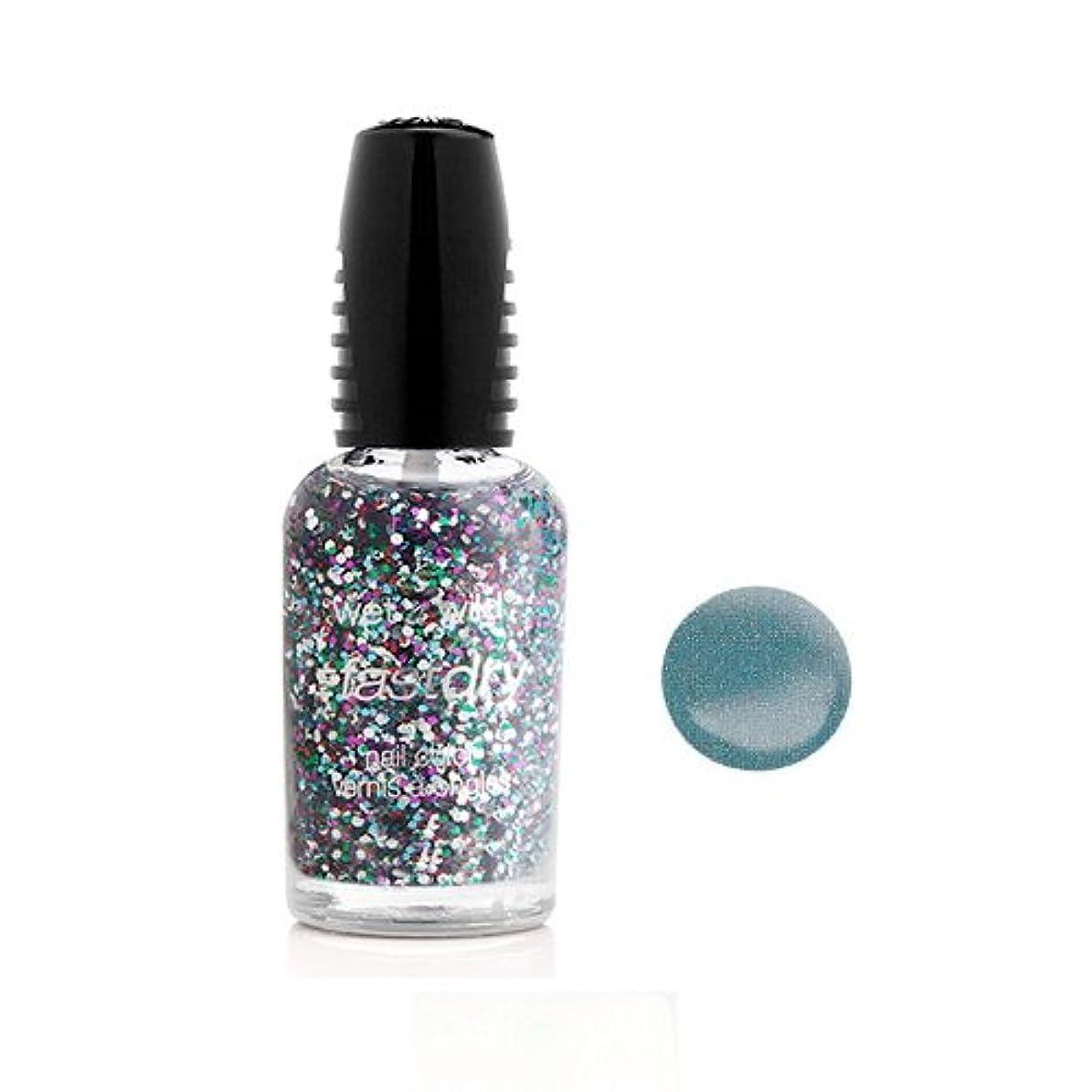 洗う昼食地質学WET N WILD Fastdry Nail Color - Blue Wants To Be A Millionaire (並行輸入品)